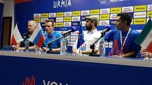 سرمربی روسیه: در ارومیه همه والیبال را می شناسند