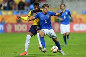 خلاصه بازی ایتالیا 0 - اکوادور 1 (جام جهانی جوانان)