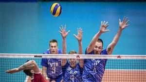 خلاصه والیبال روسیه 3 - کانادا 1 (لیگ ملتهای والیبال)