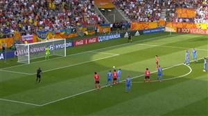 گل اول کره جنوبی به اوکراین (پنالتی-لی کانگین)