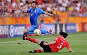 خلاصه بازی اوکراین 3 - 1 کره جنوبی (جام جهانی زیر 20سال)