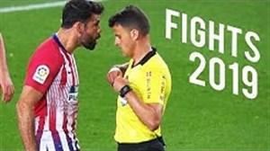 درگیری های شدید فوتبال در سال 2019