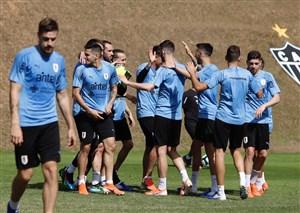 تمرین امروز تیم ملی اروگوئه 26-03-98