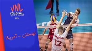 خلاصه والیبال لهستان 3 - کانادا 1 (لیگملتهای والیبال)