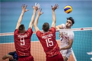 مسیر قهرمانی روسیه در والیبال لیگ ملتها 2019
