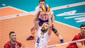 بررسی عملکرد تیم والیبال ایران درپایان هفته چهارم