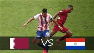 خلاصه بازی پاراگوئه 2 - قطر 2 (کوپا آمریکا)