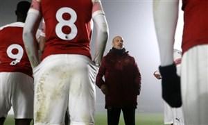 گفتگو با مربی تازه کار آرسنال پس از هدایت اولین بازی