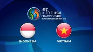 خلاصه فوتسال اندونزی 7 - ویتنام 5 (قهرمانی آسیا)