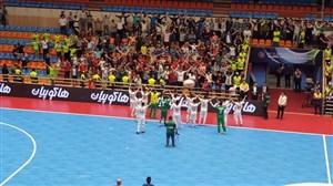 صعود جوانان ایران به نیمه نهایی فوتسال قهرمانی آسیا