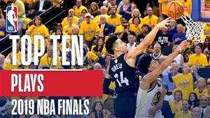 10 حرکت برتر در فینال بسکتبال NBA 2019