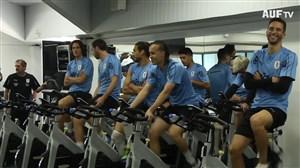 تمرین امروز تیم ملی اروگوئه (29-03-98)