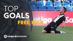 5 گل ضربه ایستگاهی لالیگا در فصل 19-2018