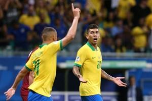 مردود اعلام شدن سه گل برزیل به ونزوئلا!