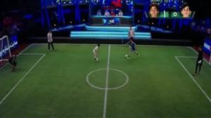 فوتبال تک به تک با یاران عزیزی و جباری