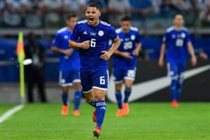 گل اول پاراگوئه به آرژانتین (ریچاردسانچز)