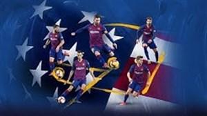 پیش بازی بارسلونا - ناپولی در تور پیش فصل آمریکا