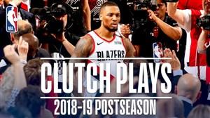 برترین شوت های کلاچ لیگ NBA در فصل 19-2018
