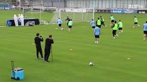 تمرین بازیکنان تیم ملی اروگوئه (30-03-98)