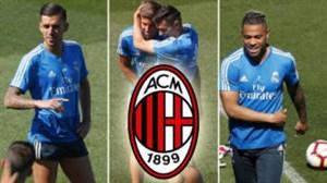 مدیر میلان در مادرید برای جذب سه بازیکن رئال