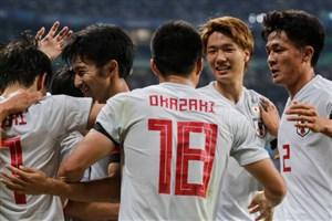 گل دوم ژاپن به اروگوئه (دبل میوشی)