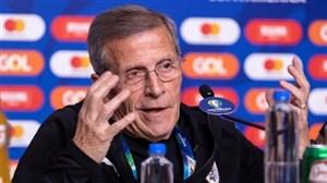 تابارز: نسبت به صعود اروگوئه نگران نیستم