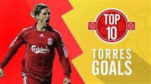 10 گل برتر فرناندو تورس با پیراهن لیورپول