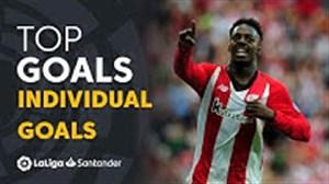 5 گل انفرادی برتر لالیگا فصل 19-2018