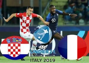 خلاصه بازی فرانسه 1 - کرواسی 0(زیر21سال اروپا)