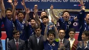 جشن قهرمانی تیم فوتسال زیر 20 سال ژاپن