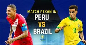 خلاصه بازی برزیل 5 - پرو 0 (کوپا آمریکا)