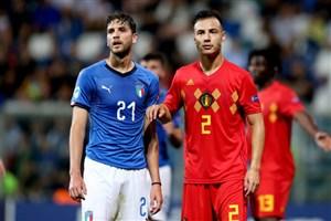 خلاصه بازی ایتالیا 3 - بلژیک 1 (زیر 21سال اروپا)