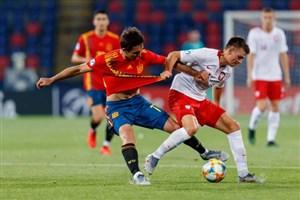خلاصه بازی اسپانیا 5 - لهستان 0 (زیر 21 سال اروپا)