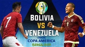 خلاصه بازی ونزوئلا 3 - بولیوی 1 (کوپا آمریکا)
