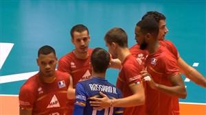 خلاصه والیبال فرانسه3 -استرالیا 0 (لیگ ملتهای والیبال)