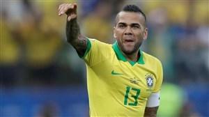 دنی آلوس: برزیل از نگاه مثبت هواداران راضی است