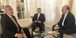 صالحیامیری با رئیس IOC دیدار کرد