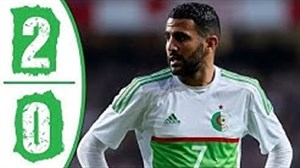خلاصه بازی الجزایر 2 - کنیا 0 (جام ملتهای آفریقا)