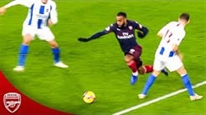 عملکرد الکساندر لاکازت با پیراهن آرسنال فصل 2018/19