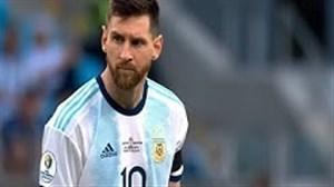 عملکرد مسی مقابل قطر در بازی دیشب