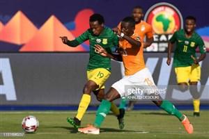 خلاصه بازی ساحلعاج 1 - آفریقای جنوبی 0 (جام ملتهای آفریقا)