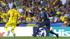 خلاصه بازی فرانسه 0 - رومانی 0(جام ملتهای اروپا زیر21سال)