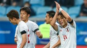 خلاصه بازی تاجیکستان 0 - ژاپن 3