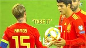 لحظات فداکارانه و خودخواهانه در دنیای فوتبال