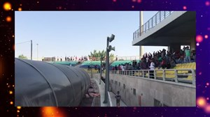 ورود هواداران پرسپولیس به ورزشگاه شهید کاظمی