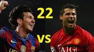 مقایسه کریستیانو رونالدو و لیونل مسی در 22 سالگی