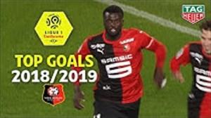 گلهای برتر تیم رن در لوشامپیونه فصل 19-2018