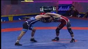 مسابقه کشتی حسن یزدانی - قاسمپور (انتخابی تیم ملی)