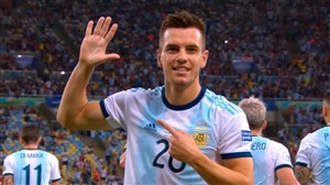 گل دوم آرژانتین به ونزوئلا (جیوانی لو سلسو)