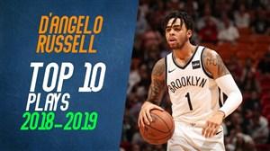 10 حرکت برتر دیآنجلو راسل در فصل 19-2018 بسکتبال BNA